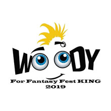 Woody for Fantasy Fest King 2019
