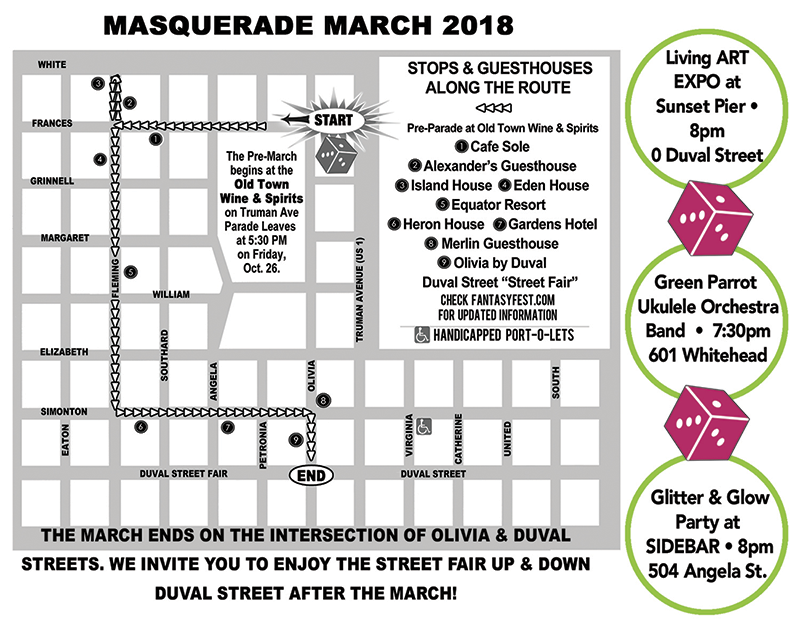 Masquerade March Map